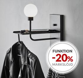 Kampanj funktionsbelysning och multifunktionella lampor Markslöjd
