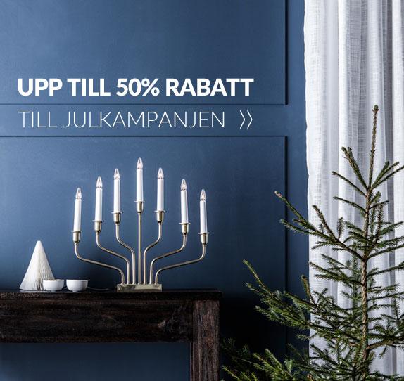 Julkampanj - Julbelysning med upp till 50% rabatt