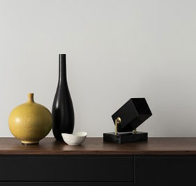 Hanna Wessman bordspotlight och golvspotligt Box Marmor Watt&Veke