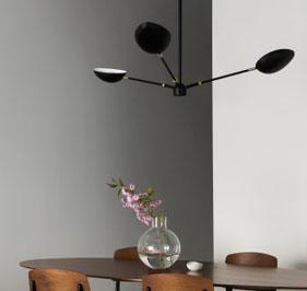 Spoon taklampa från Watt&Veke design av Hanna Wessman