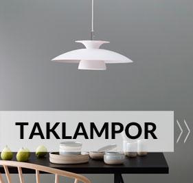 Taklampor på Lampan.se