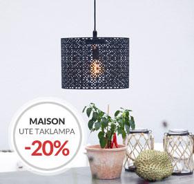 Maison Utelampan Taklampa för utomhusbruk By Rydéns