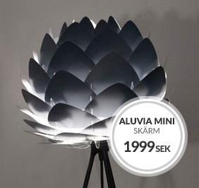 Vita Aluvia Mini Lampskärm
