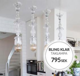 Bling Klarglas Taklampa By Rydéns