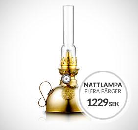 Nattlampan 24cm fotogenlampa från Karlskrona Lampfabrik
