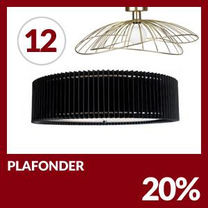 Julkalendern Lucka #12 - Alla plafonder 20% rabatt
