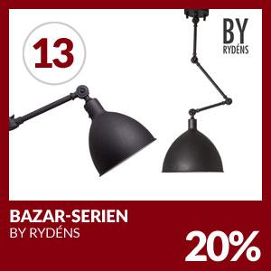 Julkalendern Lucka #13 - Hela Bazar-serien 20% rabatt.