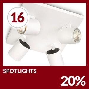 Julkalendern Lucka #16 - Spotlight 20% rabatt hos Lampan.se