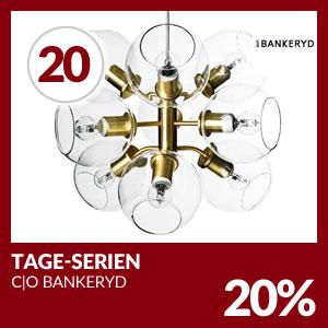 Julkalendern Lucka #20 - Denna dagen för vi 20% på hela Tage-serien från C|O Bankeryd