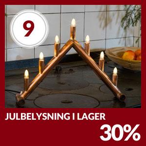 Julkalendern Lucka #9 - All Julbelysning 30% rabatt